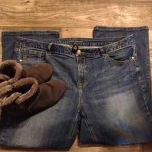 Sz 20S (Short).Boot cut jeans Very Good Used Cond